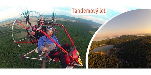 Vyhliadkový paraglidingový let - tandem
