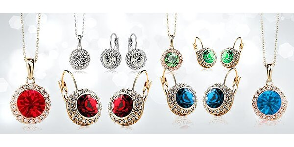Elegantné dámske šperky