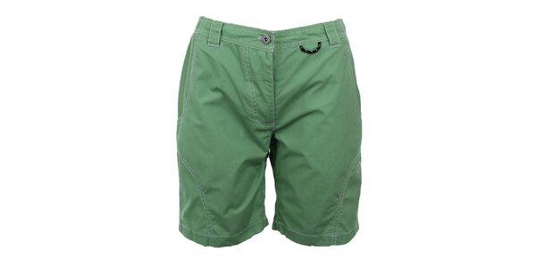 Dámske zelené šortky Hannah