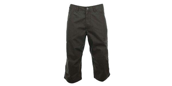 Pánske zelenošedé 3/4 nohavice Hannah