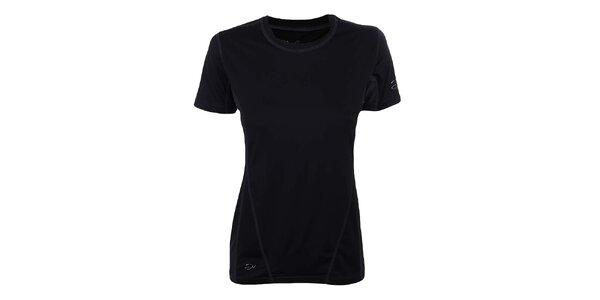 Dámske čierne funkčné tričko Hannah
