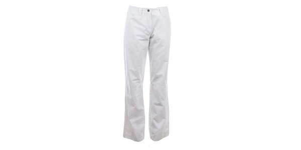 Dámske biele nohavice Hannah