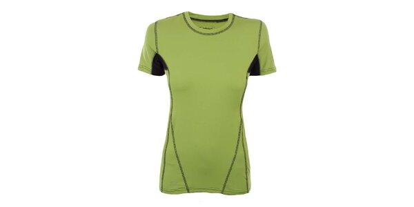 Dámske zelené funkčné tričko Hannah