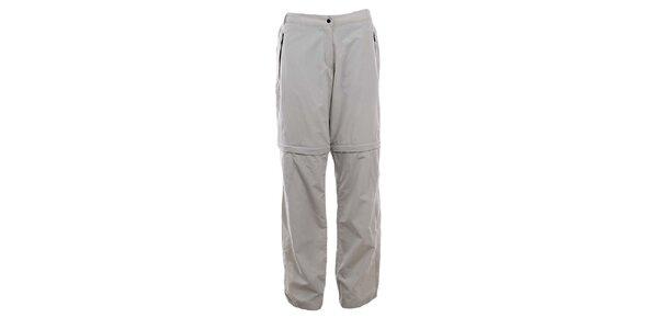 Dámske šedobéžové turistické nohavice Hannah