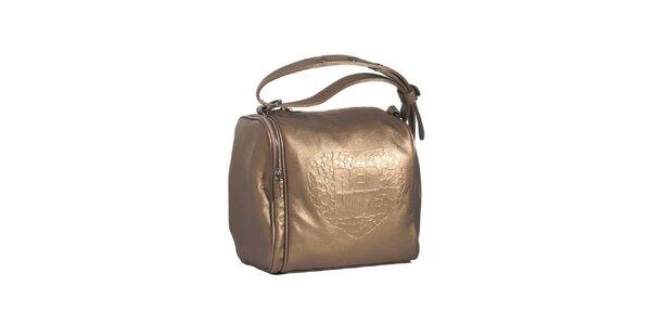 Dámska bronzová kabelka Red Hot