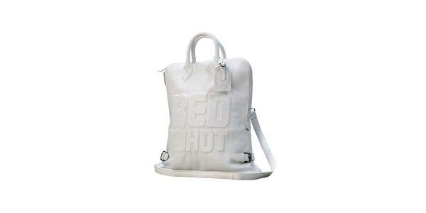 Dámska biela kabelka Red Hot