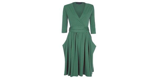 Dámske zelené šaty Hot Squash
