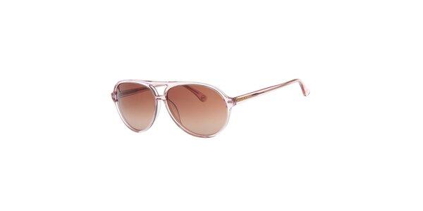 Dámske svetlo ružové slnečné okuliare Michael Kors