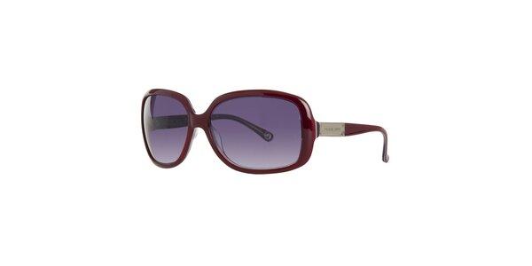 Dámske tmavo vínové slnečné okuliare Michael Kors