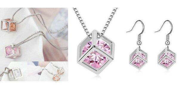 Nádherný set šperkov - SWAROVSKI ELEMENTS poteší každú ženu