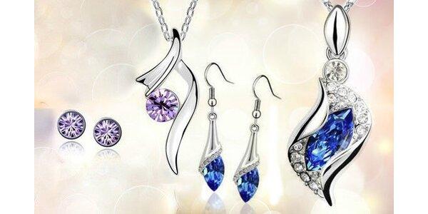 Sada šperkov Austria Crystal - Elegantné šperky pre každú ženu!