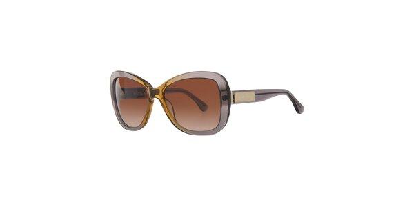 Dámske šedo-žlté slnečné okuliare Michael Kors