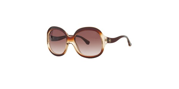 Dámske hnedé slnečné okuliare Michael Kors