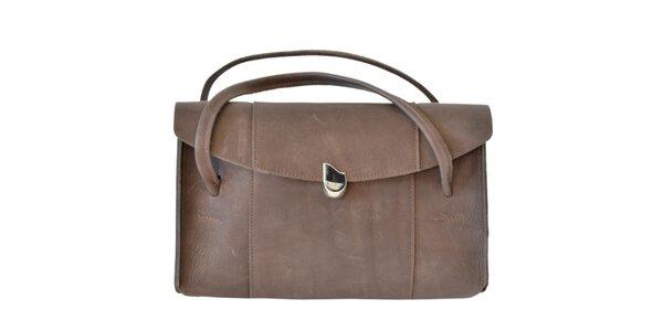 Dámska tmavo hnedá kabelka Bellemarie