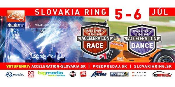 Acceleration - hudobný a pretekársky festival