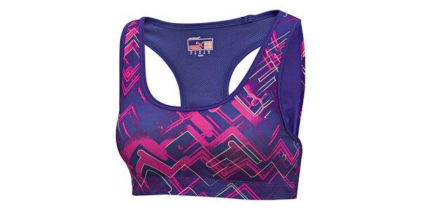 Dámska fialová športová podprsenka Puma