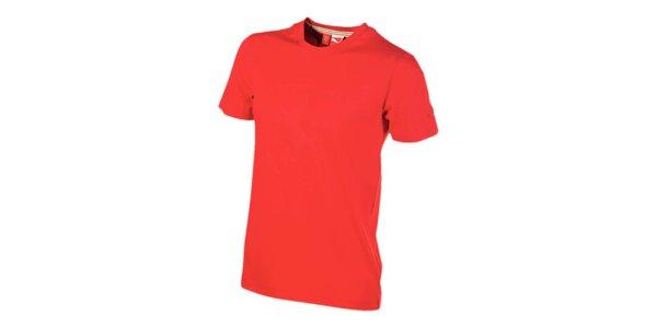 Červené tričko so znakom Ferrari Puma