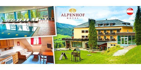 Letný pobyt pod Alpami pre 2 osoby