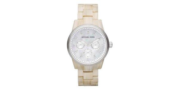 Dámske hodinky s perleťovým ciferníkom Michael Kors