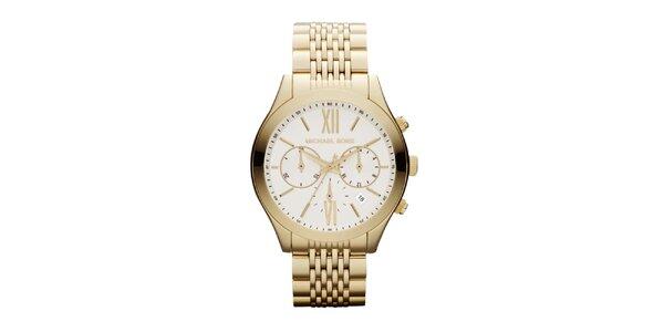 Dámske zlato tónované hodinky Michael Kors