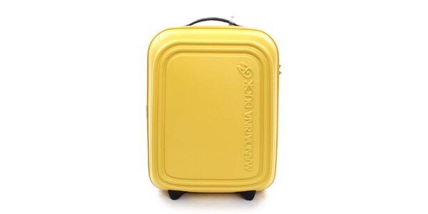 Žltý cestovný kufor s TSA zámkom Mandarina Duck