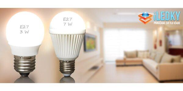 Biele LED žiarovky