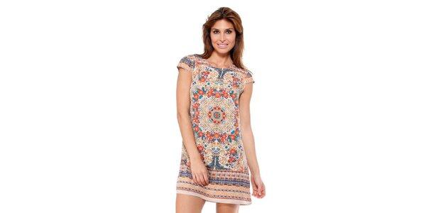 Dámske pestrofarebné šaty Janis