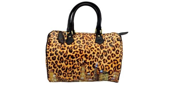 Dámska kabelka s leopardím vzorom Giulia
