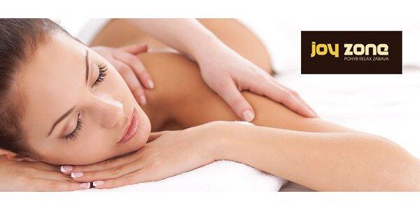 Klasická alebo relaxačná celotelová masáž