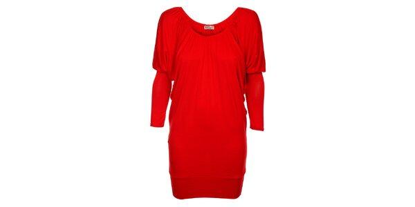 Dámske červené šaty Love Red