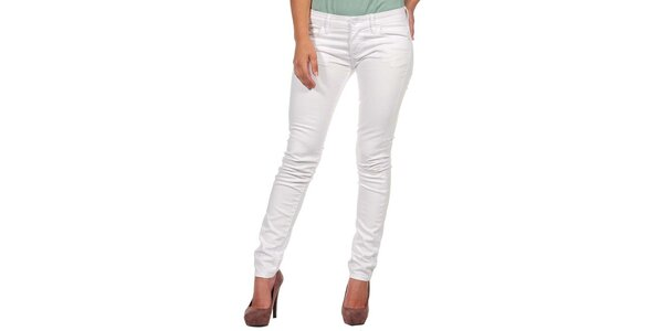 Dámske biele džínsy Calvin Klein