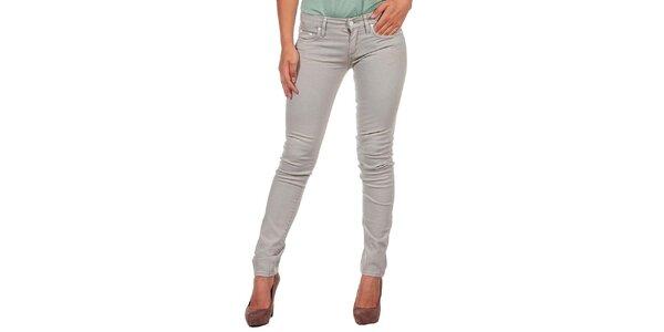 Dámske šedé džínsy Calvin Klein