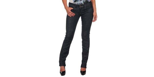 Dámske tmavo modré úzke džínsy Calvin Klein