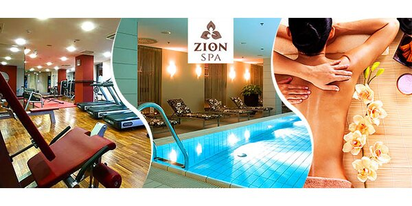 Fitness,Wellness&Spa v ZION SPA Crowne PLAZA
