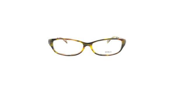 Dámske viacfarebné okuliarové rámy Furla