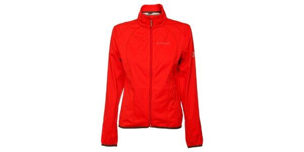 Dámska červená softshellová bunda Trimm