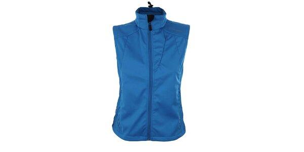 Dámska modrá softshellová vesta Trimm
