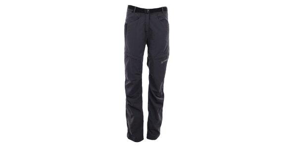 Dámske šedo-čierne outdoorové nohavice Trimm