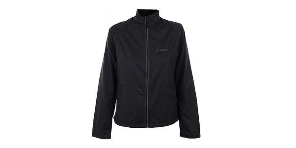Dámska čierna bunda a zároveň vesta Trimm