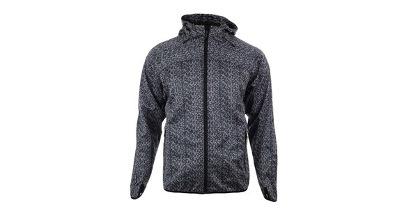 Pánska čierno-šedá softshellová bunda Trimm