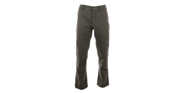 Pánske khaki outdoorové nohavice Trimm