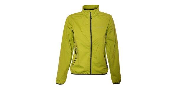 Dámska svetlo zelená ľahká softshellová bunda Trimm