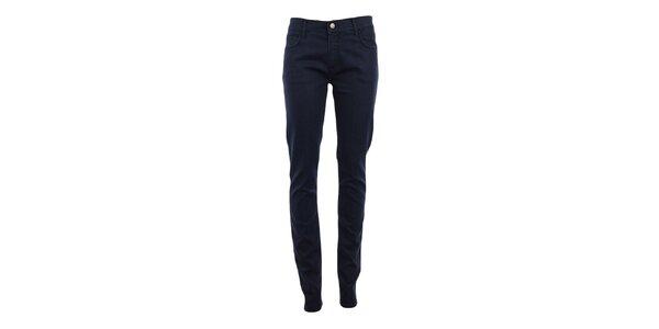 Dámske tmavo modré denimové skinny nohavice Monkee Genes