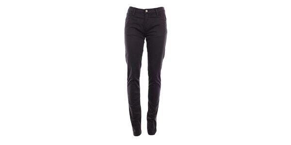 Dámske tmavo šedé skinny nohavice Monkee Genes