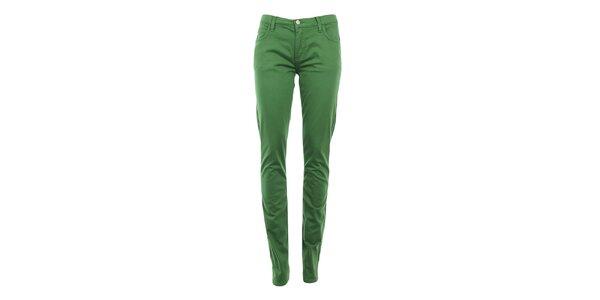 Dámske zelené skinny nohavice Monkee Genes