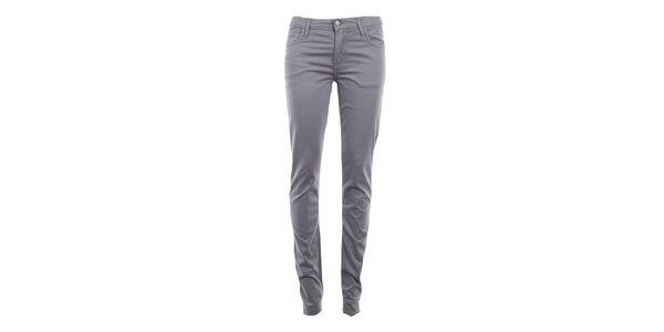Dámske šedé skinny nohavice Monkee Genes