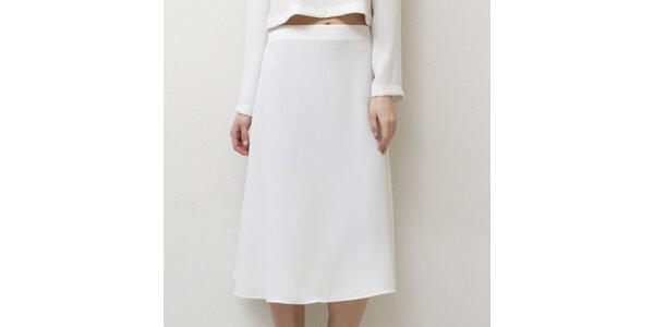 Dámska biela sukňa Mija