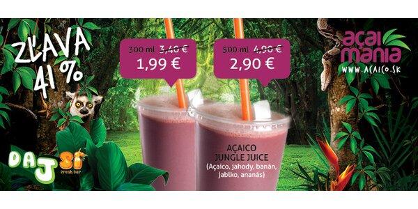 Osviežujúca ovocná šťava Acaico Jungle