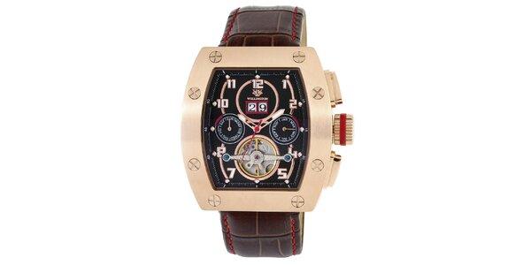 Pánske farebné hodinky s výrazným ciferníkom Wellington
