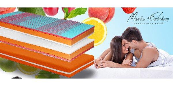 Stredne tuhý matrac Fruity Medium